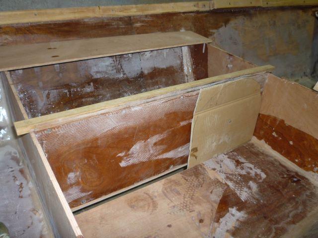R alisation du puit de d rive pivotante du bateau for Comment construire un puit